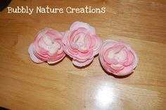 Layers upon layers is best to describe cabbage roses… They make for beautiful hair flowers- with a little crafting help! Here is how I did it… Supplies Hot Glue Gun (which I burned myself on making this!) pearl beads- 3 for each hair flower Cabbage Rose bouquet (usually sold in a set of 2 or …