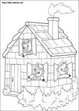 61 Meilleures Images Du Tableau Les 3 Petits Cochons