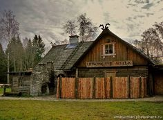 The viking village, Estonia