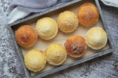 Kürtős kalács muffinok bögrésen | Rupáner-konyha Kurtos Kalacs, Cake Recipes, Dessert Recipes, Nom Nom, Biscuits, Food And Drink, Sweets, Snacks, Dishes