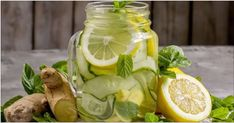 How to Make Ginger and Apple Detox Lemonade - Step To Health Snacks For Work, Healthy Work Snacks, Healthy Appetizers, Healthy Smoothies, Healthy Drinks, Healthy Eating, Diet Soup Recipes, Smoothie Recipes, Apple Detox
