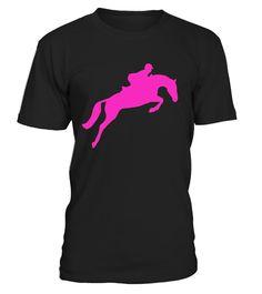 Horse Riding English Equestrian Hunter Jumper T-shirt