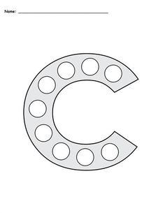 FREE Letter C Do-A-Dot Printables - Includes Uppercase and Lowercase Letters in 2 Versions! Letter C worksheets like these are perfect for toddlers, preschool, pre-k, and kindergarten. They're great for letter recognition, fine motor skills, and more! Get the free letter C coloring pages here --> https://www.mpmschoolsupplies.com/ideas/7781/free-letter-c-do-a-dot-printables-uppercase-lowercase/