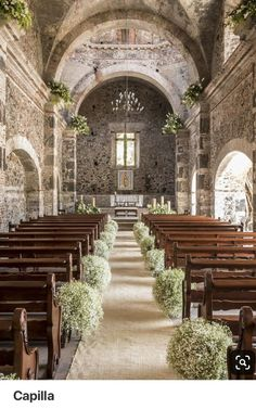 church wedding Terrific Photos Top - Tips Buy wedding decoration made easy Whenever you organize a wedding , youve to pay attention to the Church Wedding Flowers, Chapel Wedding, Wedding Bouquets, Dream Wedding, Fall Wedding, Wedding Aisle Decorations, Wedding Altars, Decor Wedding, Rustic Wedding