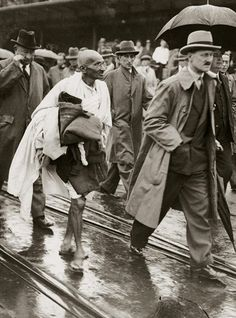 Mohandas K. Gandhi (1869-1948), also known as Mahatma Gandhi, is perhaps the most famous peacemaker in world history. In his role as a figurehead of the Indian independence movement, which sought to liberate India from British colonial rule, Gandhi practiced civil disobedience, nonviolence and passive resistance.  Image Credit: Imagno/Hulton Archive/Getty Images