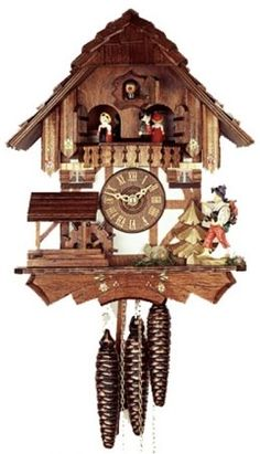 Chalet Cuckoo Clock | Music | Animated | Wanderer | Dancers | 1314