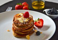 Vegane Pancakes Breakfast, Food, Clean Foods, Morning Coffee, Essen, Meals, Yemek, Eten