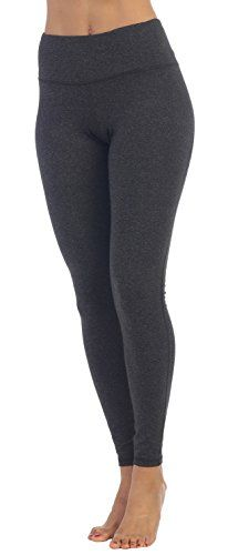 American Fitness Couture Womens Essential Workout Heathered High Waist AnkleLength Yoga Legging Coal XL * Want additional info? Click on the image. (It is an affiliate link and I receive commission through sales)