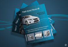 Prospectus pour un vendeur de véhicules d'occasion : Flash Autos Pièces 08