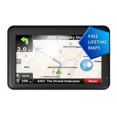 Binatone U505 5 Inch Sat Nav with Lifetime Maps Western EU was £79.99 NOW £39.99 at Argos