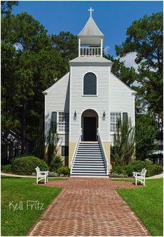 First Presbyterian Church built in 1808, in St. Mary's Georgia #StMarys #Ga #Church #St_Marys