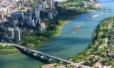 SASKATOON, SASKATCHEWAN - the cities of bridges - lived here until I was skating outside bedside the Bess, Folkfest; the pretty campus of the University of Saskatchewan University Of Saskatchewan, Saskatchewan Canada, World Cities, Pacific Ocean, Summer Fun, Places Ive Been, Places To Visit, Coast, Tours