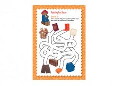 <p>This activity supports A Problem for Paddington Bear lesson plan which is part of the Royal Mail Classic Children's TV education resource pack. </p>