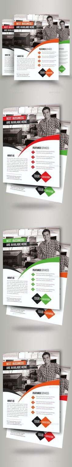 Corporate Flyer Flyer template - computer repair flyer template