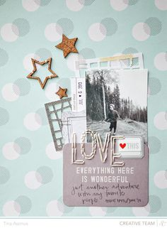 """LOVE this.... Everything Here is Wonderful just another adventure w/ my favorite people"" Pocket ~ Scrapbook, SMASHbook, Project Life, Journal, Travel Journal"