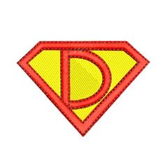 Needle Passion Embroidery Embroidery Design: Superhero D 1.97 ...