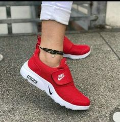 nike mujer zapatillas casual rojas