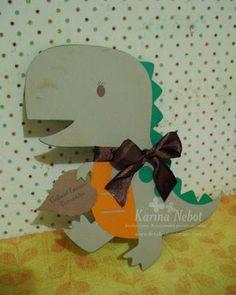 Karina Nebot: Invitaciones de Dinosaurio