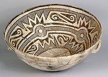 Anasazis — Wikipédia Bol en céramique peinte - XI - XII èmes s. Chaco Canyon