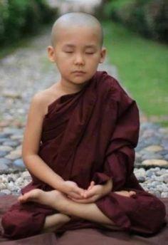 meditating/
