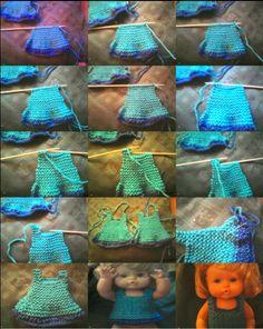 Camisa de Nenuco Paso a Paso Para qué lo tengáis en Cuenta, Tengo Que Decir Que Las Medidas Que pongo Con Son Los Materiales ... Loom Knitting Projects, 18 Inch Doll, American Girl, Crochet Bikini, Free Pattern, Dolls, Swimwear, Fashion, Girl Doll Clothes