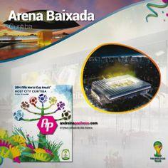 #Brasil2014 || Conoce el Arena De Baixada  + Poster + La ciudad + Los partidos que albergará  >>http://goo.gl/dAGkCk