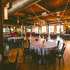 The Rickhouse in Durham, NC // Urban wedding and reception venue with an elegantly southern vibe // Photo by Carolyn Scott.   www.southernbrideandgroom // @sthrnbrideandgroom