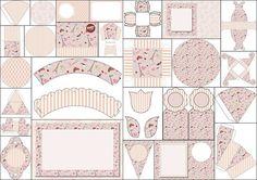 Romantic Paris Themed Wedding: Free Printable Kit.