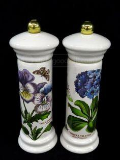 shopgoodwill.com: Portmeirion Ceramic Salt N Pepper Shakers