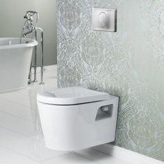 Cheviot MATRIX Wall Hung Toilet (dual flush for water/energy savings)