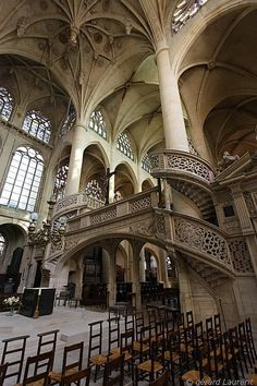 'Saint Etienne du Mont' church near the Pantheon, Paris / Photo credits: Gérard Laurent