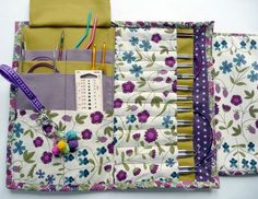 Tuto complet pochette aiguilles circulaires interchangeables (via Martine Richard saved to Tricot)