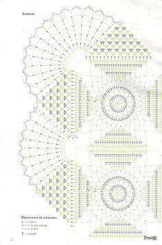 Яндекс.Фотки Crochet Doily Diagram, Crochet Motif Patterns, Crochet Mandala, Crochet Chart, Thread Crochet, Filet Crochet, Crochet Designs, Crochet Stitches, Crochet Table Topper