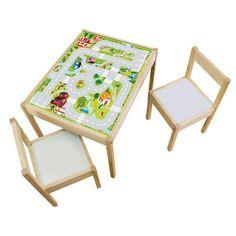 """Weiteres - Kindertisch LÄTT pimpen mit Möbelfolie """"Igelche... - ein Designerstück von Limmaland bei DaWanda"""