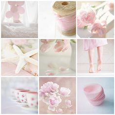 Lovely in Soft Pink Collage Pretty Pastel, Pastel Pink, Pastel Colors, Blush Pink, Collages, Pot Pourri, Color Collage, Mood Colors, Beautiful Collage