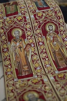 The Royal Stole Collection | Riza Orthodox Vestments