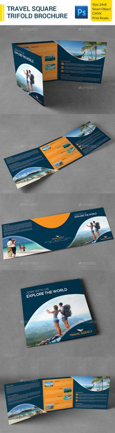 Travel Brochure | Travel Brochures | Pinterest | Broschüre Vorlage ...