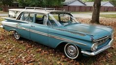 Stored 47 Years: 1959 Chevrolet Nomad - http://barnfinds.com/stored-47-years-1959-chevrolet-nomad/