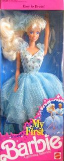 My First Barbie - My First Barbie Ballerina 1991 (Blonde) by barbielovexo, via Flickr