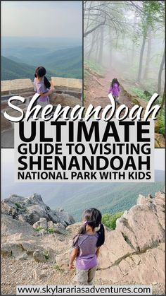 Check out our guide to visiting Shenandoah National Park! I highlight some kid friendly trails, best place to stay, and how to make the most of your visit. Hiking With Kids, Travel With Kids, Family Travel, Family Vacation Destinations, Travel Destinations, Weekend Trips, Weekend Getaways, Shenandoah National Park, Virginia Is For Lovers
