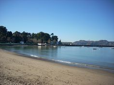 """My first """"grown-up"""" boyfriend and I lived in San Francisco. We used to get pizza and a bottle of Chianti and sit on this beach and watch the sailboats in the harbor. Beach near Ghirardelli Square 