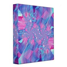 #KidsReadMore                                        Artistic Avery Binder                   This lovely binder features a gorgeous custom made fractal art piece. Perfect for school, home, or office!