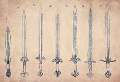 Elven Sword Evolution by Merlkir on deviantART