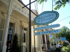 Seriously- the antiquing doesn't get better than Magazine Street...