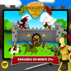 Creative fun with knights. March 27th. In App Store