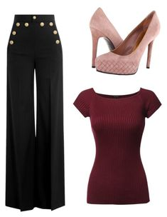 """""""Untitled #4580"""" by ania18018970 on Polyvore featuring RED Valentino and Bottega Veneta"""