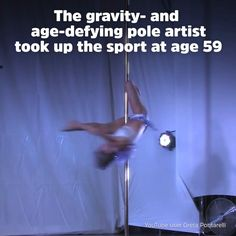 This 66-Year-Old Is a World Champion Pole Dancer: Greta Pontarelli started pole dancing at age 59, and has since become one of the world's top performers.
