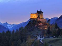 Tarasp Castle, Engadin, Switzerland