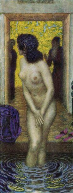 Franz Von Stuck (1863 - 1928) - Susanna and the Elders - 1913