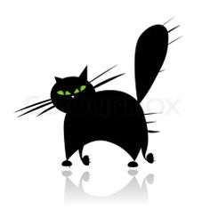 Vector of 'whiskers, tail, black'